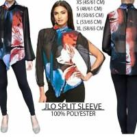 harga Baju Branded Wanita - JENNIFER LOPEZ SPLIT SLEEVE Tokopedia.com