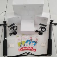 Paket Komplit Xiaomi Yi International-Monopod-MicroSD-Waterproof