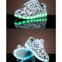 Preorder Women LED light up shoes low top importPremium high