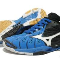 sepatu olahraga mizuno tornado 10 bloe super premium import