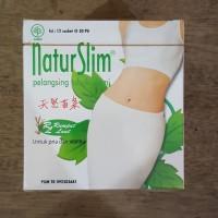 Natur Slim Isi 12 Sachet @ 30 Pil ( Obat Pelangsing Tubuh Alami )