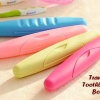 Travel Toothbrush Box / Tempat Sikat Gigi Traveling / Toothbrush Case