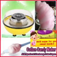 Jual Alat Pembuat Kembang Gula Kapas gulali cotton candy maker Murah