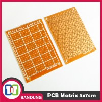 [CNC] PCB DOT MATRIX LUBANG 5X7CM
