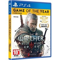 PS4 GAMES THE WITCHER 3: WILD HUNT [GAME OF THE YEAR EDITION]