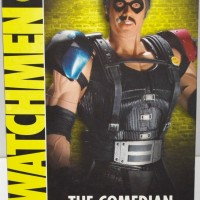 "THE WATCHMEN 12"" THE COMEDIAN DC DIRECT DELUXE COLLECTOR FIGURE!!"