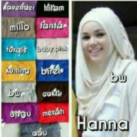 Jilbab Hanna/kerudung dewi sandra murah