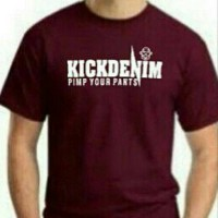 Tshirt/t shirt/baju/kaos distro Kick Denim