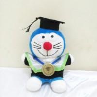 Jual Boneka Wisuda Doraemon Kecil | Wisuda Doaremon Souvenir |Hadiah Wisuda Murah