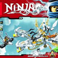 Lego Kw Ninjago Double Head White Dragon SY 532
