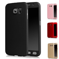 Casing Hp Samsung Galaxy S6 S7 Note 5 360 Case Free Tempered Glass