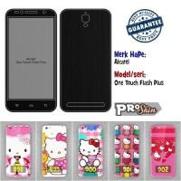 harga Garskin hp Alcatel One Touch Flash Plus harga murah bisa pakai foto se Tokopedia.com