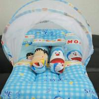 Set kasur bayi,kelambu lipat doraemon NOAF