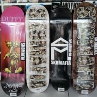 Jual Skateboard Deck Sk8mafia House Logo Baru | Deck Skateboard Len