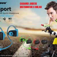 Jabees BSport Sports Waterproof/Sweatproof NFC Bluetooth GARANSI GXBX