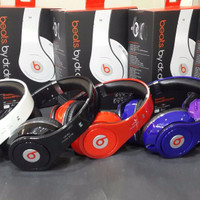 Headphone Bluetooth Monster Beats by dr.dre TM-003 (Headset Blue FBHY