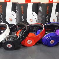 Headphone Bluetooth Monster Beats by dr.dre TM-003 (Headset Blue HPW4