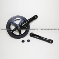harga Single Speed Crank Samox Hitam 46t | Crank Fixie | Crank Seli, Hitam Tokopedia.com