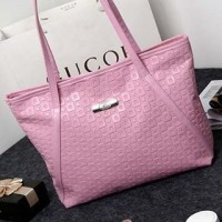 UT1562 pink tas import / tas korea / tote bag