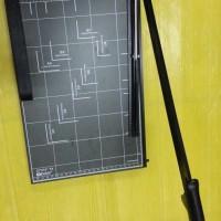 Origin Paper Cutter F4R Dark Grey - Alat Potong Kertas Ukuran F4