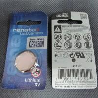 Renata CR2450 N Lithium 3V Button Cell CMOS Remote Jam Timbangan 2450