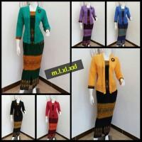 Rok dan Blus Azalea XXL ,Baju murah,batik kerja, setelan etnic wanita