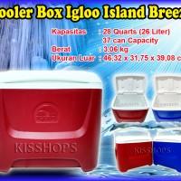 Cooler Box Igloo Island Breeze 26 liter / box pendingin + Ice Gel