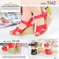 Leather Wedges Import Size 35-40