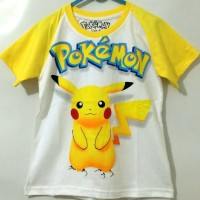 harga Pokemon Kimono 7-10 Kaos Anak Karakter AA28 Tokopedia.com