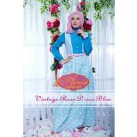 Rana Vintage Rose Dress/Gamis Pesta/Baju Muslim Couple