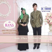 Rana Dhatu Dress/Gamis Pesta/Baju Muslim Couple