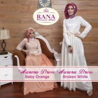 Rana Aurora Dress/Gamis Pesta/Baju Muslim Couple
