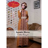 Rana Agamis Dress/Gamis Pesta/Baju Muslim Couple