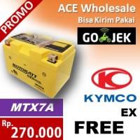harga Aki FREE EX, KYMCO, MOTOBATT, MTX7A, MOTOBAT, aki MOTOR, BATERAI Tokopedia.com