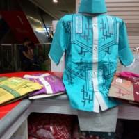baju koko / muslim anak tangan pendek uk 4-5-6