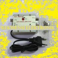 Catv Tv Amplifier / Booster Tv / Penguat Signal Antena 2 Way