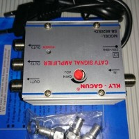 Catv Tv Amplifier / Booster Tv / Penguat Signal Antena 3 Way