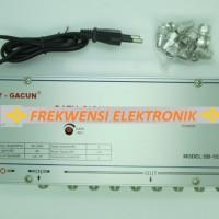 Catv Tv Amplifier / Booster Tv / Penguat Signal Antena 8 Way