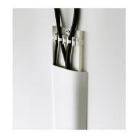 Ikea Uppleva ~ Penutup Celah Kabel Putih | Cable Cover Strip | 75 Cm