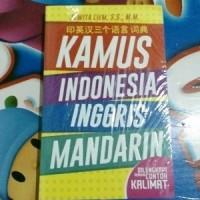 KAMUS INDONESIA-INGGRIS-MANDARIN - Juwita Liem