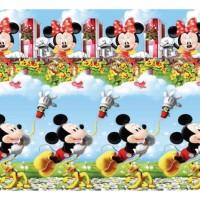 Selimut Bulu Alessa Mickey Garden