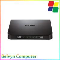 D-Link DGS-1016A 16-Port Gigabit Desktop Switch LAN Ethernet Hub