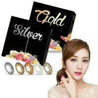 Softlens X2 ice silver gold