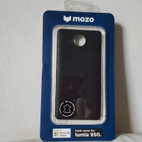 harga MOZO Microsoft Lumia 950 Black Back Cover with NFC Wireless Charging Tokopedia.com