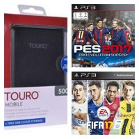 Hardisk Eksternal HGST Touro 500GB PS3