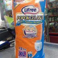 harga Lifree Popok Celana XL12 | Pampers Popok Dewasa Pants XL 12 Tokopedia.com