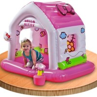 Jual Intex Hello Kitty Fun Cottage Mainan anak anak Rumah rumahan hello kit Murah
