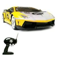 Mobil Rc Drift 4wd Lamborghini Body Metal Skala 1:16