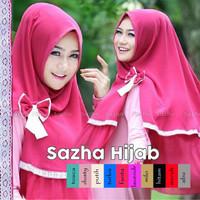 Hijab/Jilbab Syar'i Khimar Sazha Renda