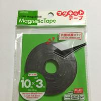 Magnet Tape / Kulkas Flexibel / Strip (Bisa Dipotong) - Daiso 1cm x 3m